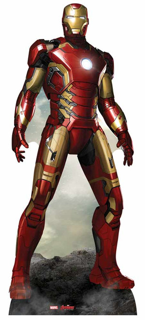 Iron Man from Marvel's Age of Ultron Lifesize Cardboard ... Iron Man Avengers Full Body