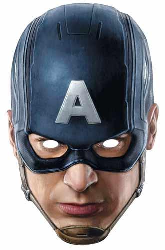captain america avengers age of ultron single card mask - Masque Captain America