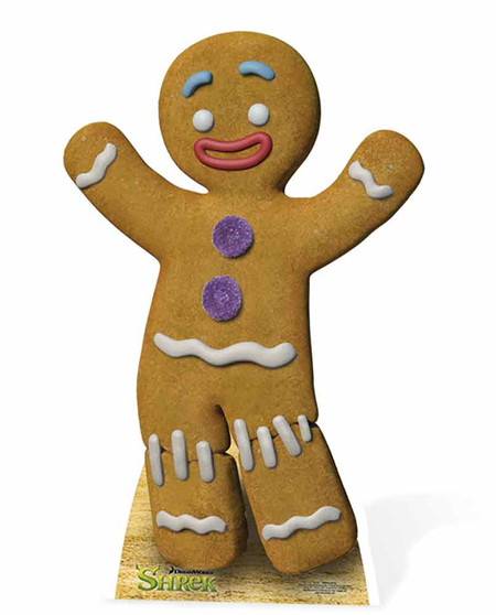 Gingy The Gingerbread Man From Shrek Lifesize Cardboard