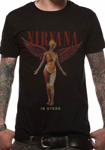 Nirvana In Utero Classic Logo Official Unisex T Shirt