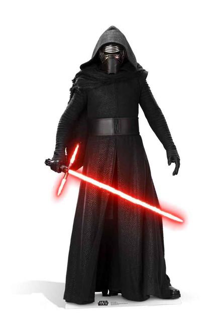 Kylo Ren Star Wars The Force Awakens Lifesize Cardboard
