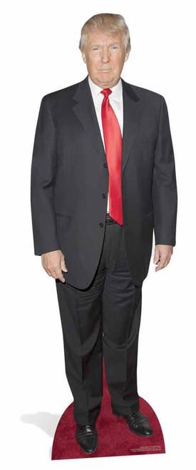Donald Trump Lifesize Cardboard Cutout Standee Stand Up