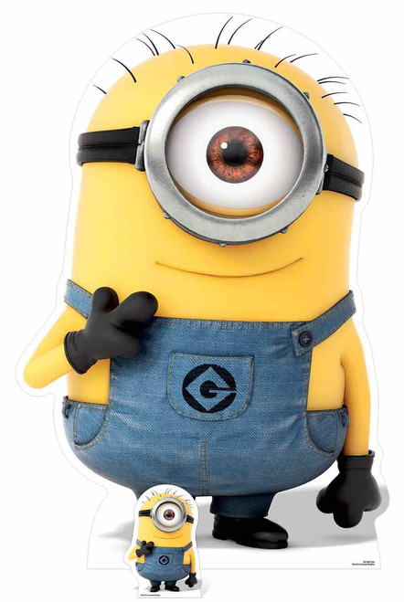 Carl Minion from Despicable Me 3 Cardboard Cutout ...