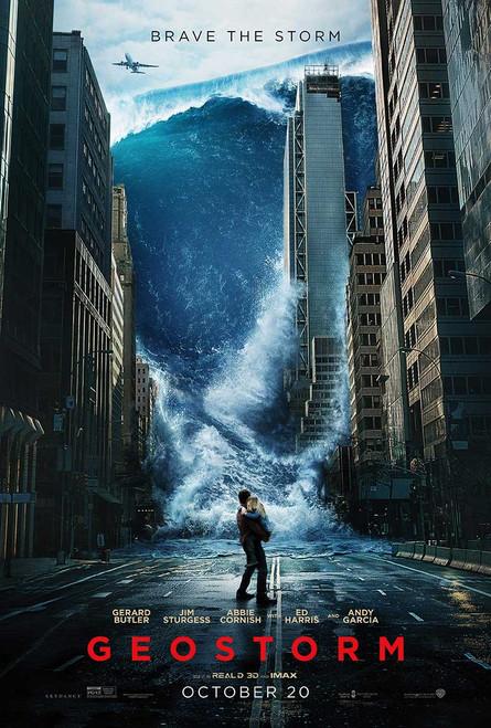 Geostorm Original Movie Poster