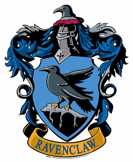 Ravenclaw Crest from Harry Potter Wall Mounted Official ... Ravenclaw House Crest