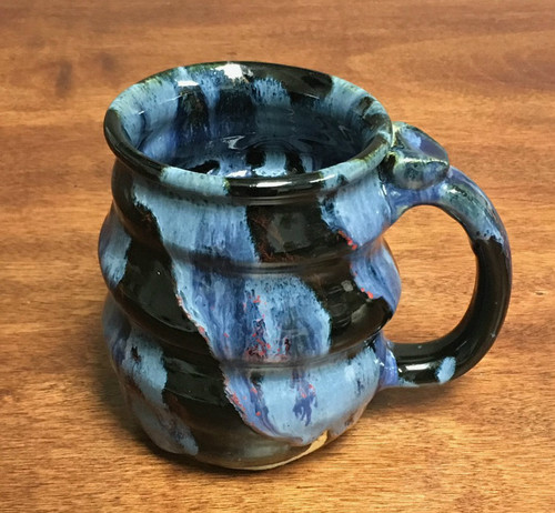 Cosmic Mug, roughly 15-16oz size, Inspired by a Planetary Nebula (SK410)