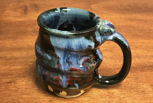 Cosmic Mug, roughly 15-16oz size, Inspired by a Planetary Nebula (SK412)