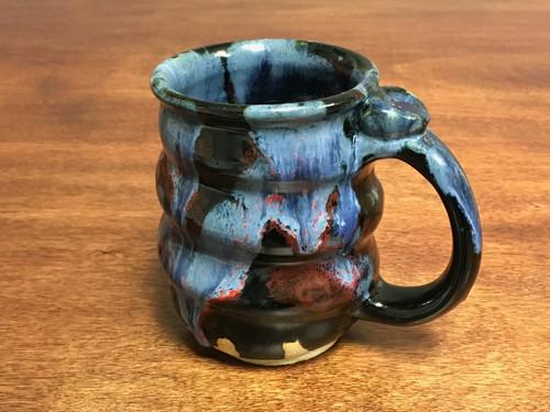 Cosmic Mug, roughly 14-15oz size, Inspired by a Planetary Nebula (SK750)