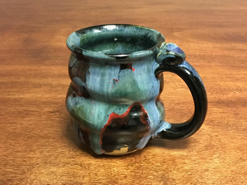 Cosmic Mug, roughly 14-15oz size, Inspired by a Star-Formation Nebula (SK760)