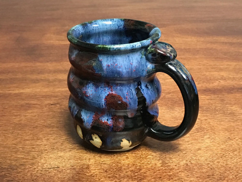 Cosmic Mug, roughly 12-14oz size, Inspired by a Planetary Nebula (SK814)