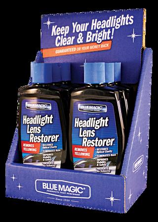 725CD-06   Headlight Lens Restorer Counter Display