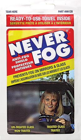 NA128   Never Fog Towelette
