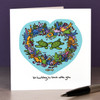 I'm turtley in love with you Card