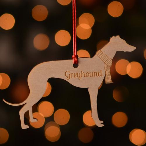 Personalised Greyhound Decoration