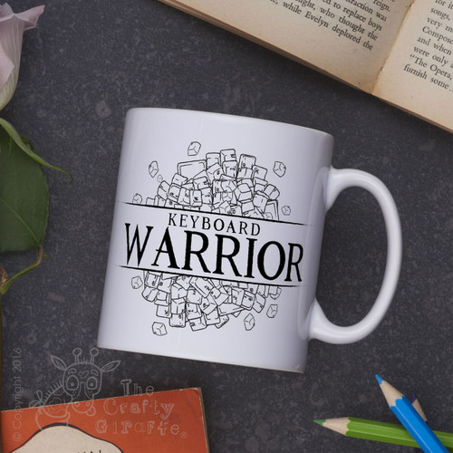 Keyboard Warrior Mug
