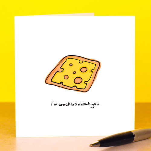 I'm crackers about you Card
