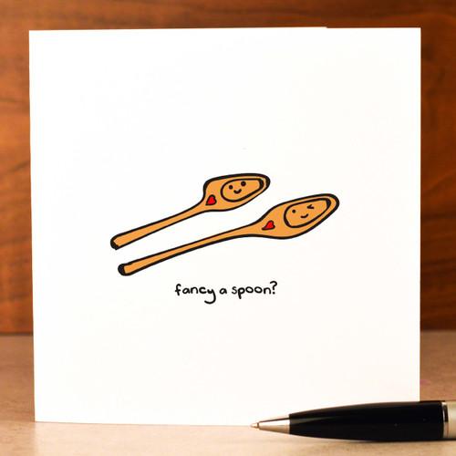 Fancy a spoon? Card