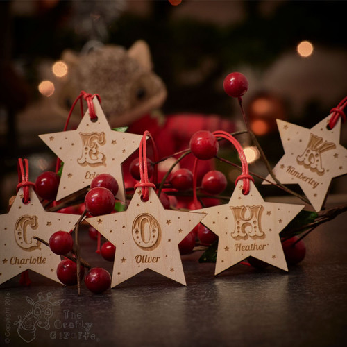 Personalised Star Tag
