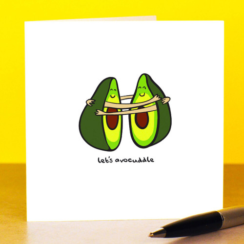 Let's avocuddle Card
