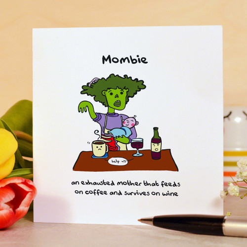 Mombie Card
