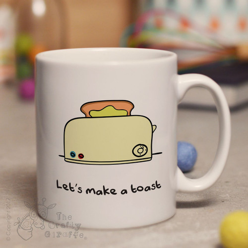 Let's make a toast mug