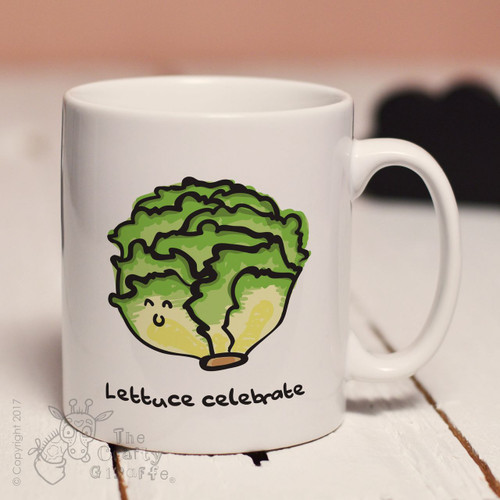 Lettuce celebrate mug