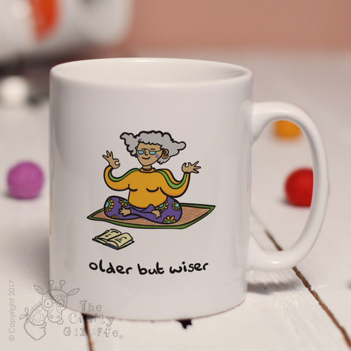 Older but wiser (lady) mug
