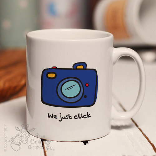 We just click mug