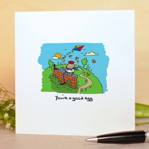 You're a good egg Card