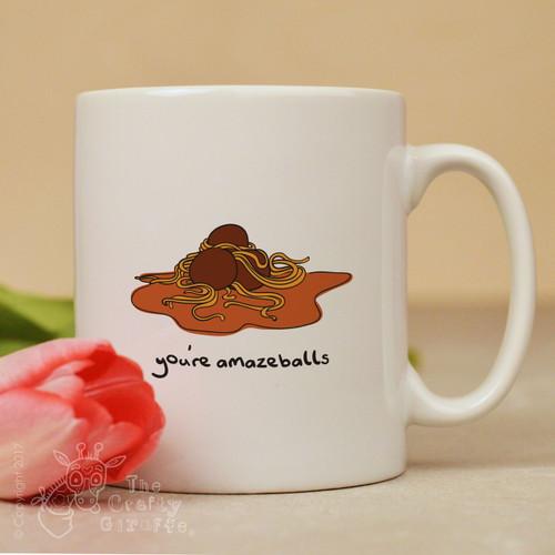 You're amazeballs mug