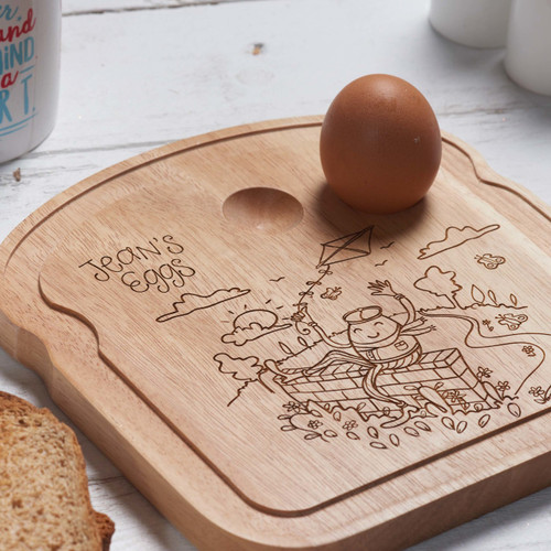 Personalised Breakfast Egg Board - Good Egg