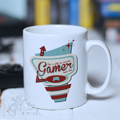 This is what an awesome gamer Mug