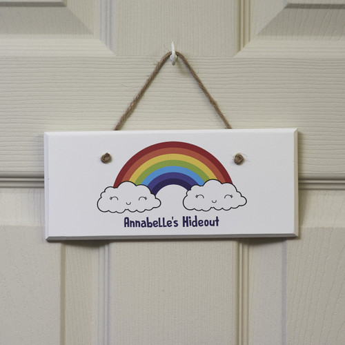 Personalised Rainbow Sign