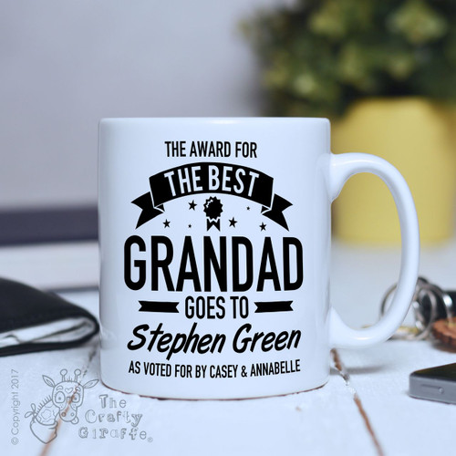 Personalised Award for the Best Mug