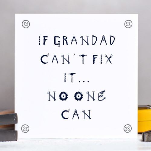 Personalised Fix It Card