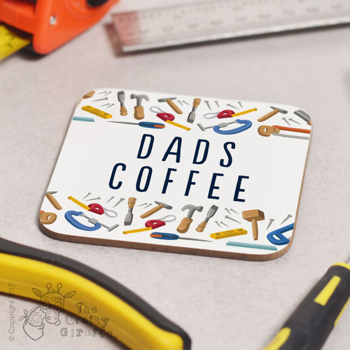 Personalised Tools Brew Coaster