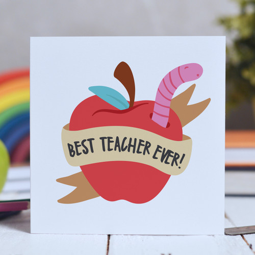 Best teacher ever - apple Card