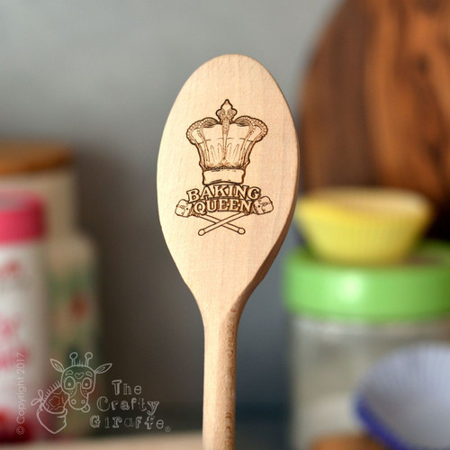 Personalised Baking Queen Spoon