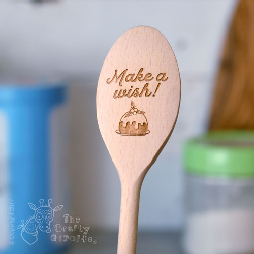 Personalised Make a wish Spoon
