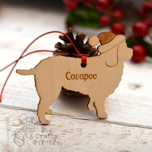 Personalised Cavapoo Decoration