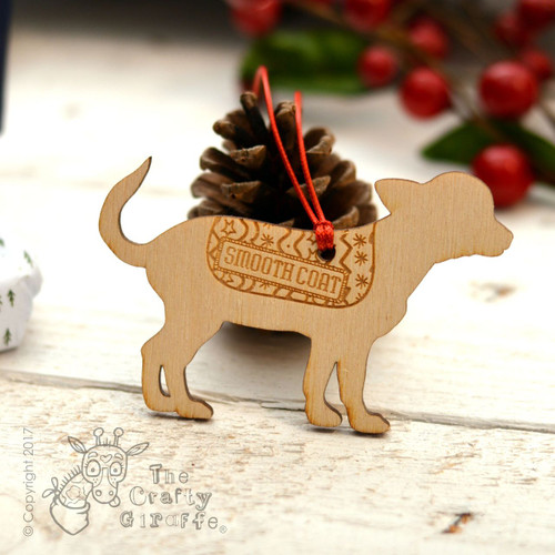 Personalised Smooth Coat Chihuahua Decoration