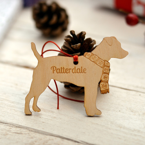 Personalised Patterdale Decoration