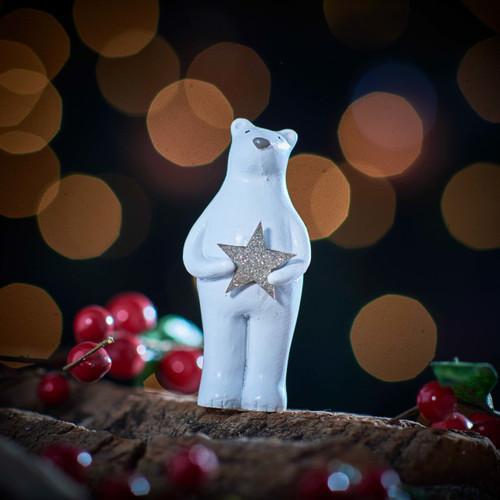 Bear holding Star Decoration