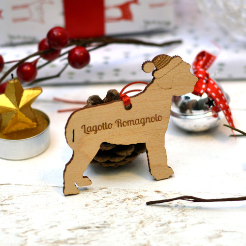 Personalised Lagotto Romagnolo Decoration