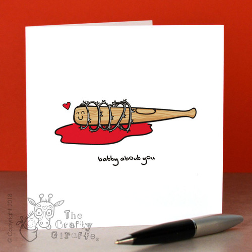 Batty about you (club) Card