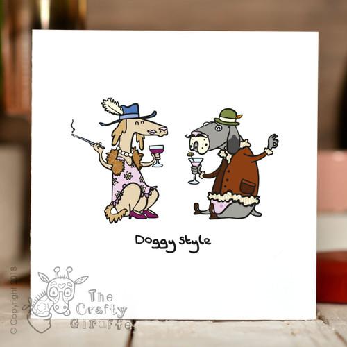 Doggy Style Card