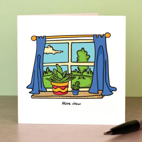 Aloe view Card