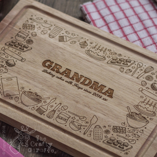 Personalised Baking Board