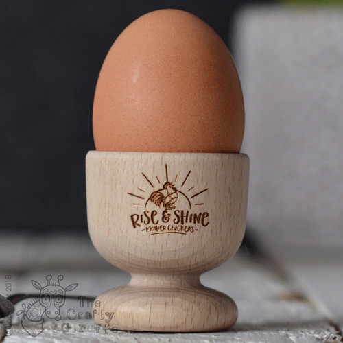 Rise and Shine Mother Cluckers Egg Cup