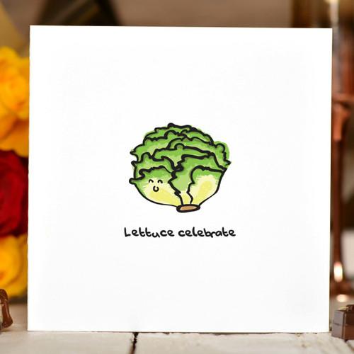 Lettuce Celebrate Card